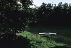Rivulet Outdoor Tables, Outdoor Dining, Outdoor Spaces, Indoor Outdoor, Outdoor Decor, Garden Furniture, Outdoor Furniture Sets, Living Divani, Dining Table Design