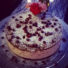Nipan Leivontanurkkaus: Puolukkakakku! Tiramisu, Sweets, Baking, Ethnic Recipes, Desserts, Food, Tailgate Desserts, Deserts, Goodies