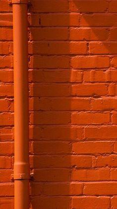 Orange   Arancio   Oranje   オレンジ   Colour   Texture   Style   Form   Brick wall