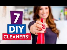 7 DIY CLEANERS & MAKER'S SALE!! | My Favorite Natural Cleaning Products! - YouTube