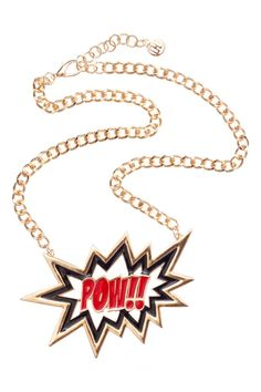 Pow Necklace from @colette by colette hayman (AUD $9.95).