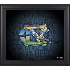 North Carolina Tar Heels Fanatics Authentic Framed 15'' x 17'' Team Heritage Collage - $49.99