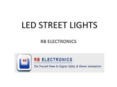 Halogen lamps in street lights must be replaced by LED Lights , it saves both power & money - http://slidesha.re/1IFjyir