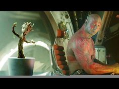 Baby Groot- Guardians of the Galexy. To watch the video click the play button-it will come up tap the video and hit the ↖️                                                            ↘️
