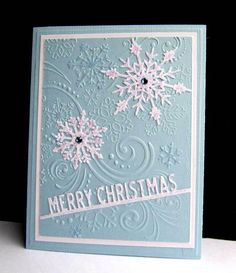FS402 Frosty Flakes by catluvr2 - Cards and Paper Crafts at Splitcoaststampers
