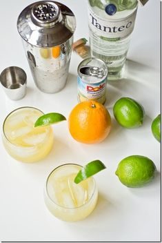 Skinny Spicy Tequila Cocktail, have your drink and cookies too!