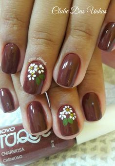 Nails floral 30 Spring Floral Nail Designs To Make You Shine - Page 28 of 30 Spring Floral Nail Designs To Make You Shine; Gold Nails, White Nails, My Nails, Nail Designs Spring, Nail Art Designs, Beautiful Nail Designs, Nail Decorations, Flower Nails, Easy Nail Art