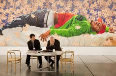 Kehinde Wiley, Art Basel Miami Beach, 2010 (Sean Kelly) Archival pigment print