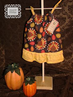 SALE Thanksgiving Fall Dresses NB to 24mo door AvaEliClothing, $15,00