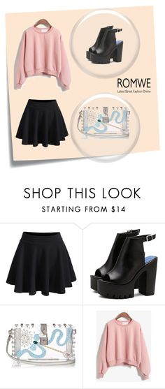 """""""Goes around comes around"""" by luxegirl11 ❤ liked on Polyvore featuring Post-It, WithChic and Dolce&Gabbana"""