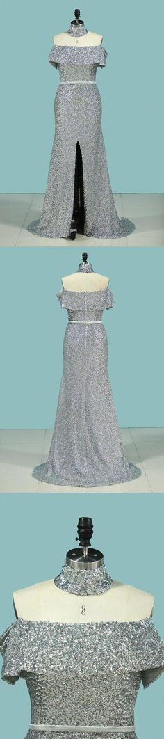 2020 Boat Neck Prom Dresses Mermaid Sequins With Sash PJ4ALN5X, This dress could be custom made, there are no extra cost to do custom size and color Split Prom Dresses, Tulle Prom Dress, Mermaid Prom Dresses, Wedding Dresses, Mermaid Sequin, Sweetheart Prom Dress, Rhinestone Appliques, Pleated Bodice, Red Lace
