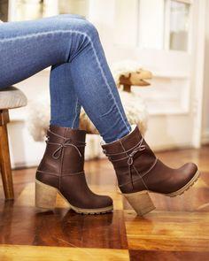 150790 Café - Botines - Romano - Tienda Online Zapatos de Mujer