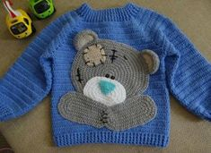BABY Customer 100 Rock Work Models - Stricken Viel Fraueninteresse an k . Crochet Baby Sweater Pattern, Crochet Baby Sweaters, Baby Girl Sweaters, Crochet Baby Clothes, Crochet Jacket, Knit Crochet, Crochet Patterns, Crochet Toddler, Crochet For Boys