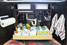 IHeart Organizing: UHeart Organizing: Think to Organize Under the Sink