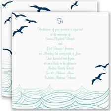 Making Waves Wedding Invitation