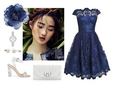 """""""Blue Ocean"""" by lovettaa on Polyvore featuring Kate Landry, Accessorize and Kate Spade"""