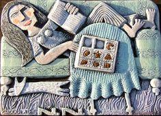 hilke macintyre - ceramic reliefs