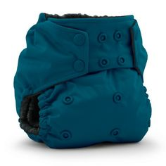 Clue 9 - Rumparooz OBV One Size Cloth Diaper - Caribbean with Organic Bamboo Velour