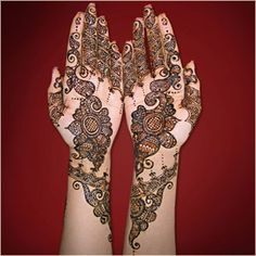 Indian Bridal Mehndi Designs For Hands | Female OKE Tips, Beauty Tips