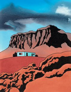 Navajo Country, Indian Landscape, Art by Ken Price