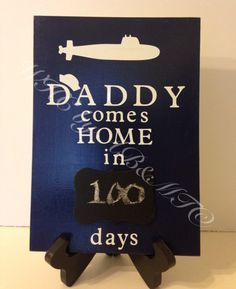 MadetoOrder Submarine Deployment Countdown by WelcomingHavenC, $12.00