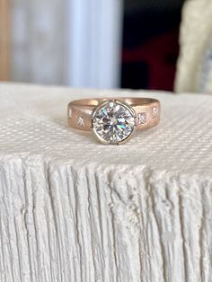 Wide Band Diamond Rings, Rings N Things, Best Diamond, Moissanite Rings, Custom Jewelry, Class Ring, Sapphire, Engagement Rings, Gemstones