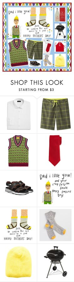 """Dad, I Love You!"" by rebel846 ❤ liked on Polyvore featuring Theory, prAna, Gucci, Neiman Marcus, Post-It, Old Spice, Cost Plus World Market, Acne Studios, About Face Designs and men's fashion"
