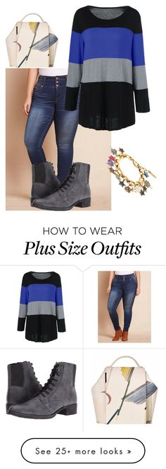 """plus size makina"" by aleger-1 on Polyvore featuring Geox and Marc Jacobs"