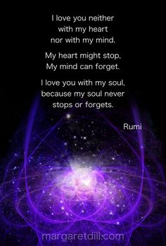 I love you - Rumi Quote - blogger of inspirational quotes & design for dreamers store