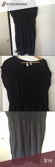 Black pleated dress Black pleated dress Old Navy Dresses