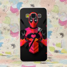 638HJ Low Poly Deadpool Dura do Caso da Tampa Transparente para Galaxy A3 A5 7 8 J5 7 Nota 2 3 4 5 & Grand 2 Prime //Price: $US $1.69 & FREE Shipping //    #vingadores #ageofultron #marvel