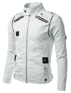 Look At These Men's Jackets. Find out some good mens fashion. With so much fashion for guys to pick from currently, it can be a time consuming encounter. Terno Casual, Revival Clothing, Look Cool, Leather Men, Biker Leather, Cowhide Leather, Real Leather, Jackets For Women, Mens Fashion