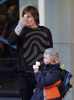 Norman Reedus Son | Norman and his son - norman-reedus Photo