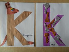 Letter of the week k craft