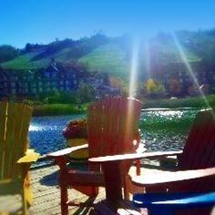Blue Mountain / Collingwood, Ontario Canada, Outdoor Chairs, Outdoor Decor, Selling Real Estate, Girls Weekend, Travel Memories, Blue Mountain, My World, Ontario