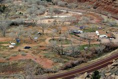 Aerial View of the Doggy Dude Ranch Springdale, UT by mpjohnson3, via Flickr