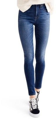 Shop Now - >  https://api.shopstyle.com/action/apiVisitRetailer?id=666446837&pid=uid6996-25233114-59 Women's Madewell 10-Inch High-Rise Skinny Jeans  ...