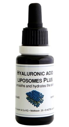 """Fine lines and wrinkles don't stand a chance with this little superstar! """"Hyaluronic Acid Liposome Plus"""" boosts hydration and elasticity of skin, making for a more youthful appearance :-)"""