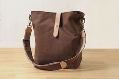 Hobo Canvas Bag Bag PDF Sewing Pattern with Sewing par niizo