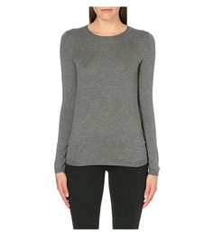 WHISTLES Annie sparkle knit (Grey)