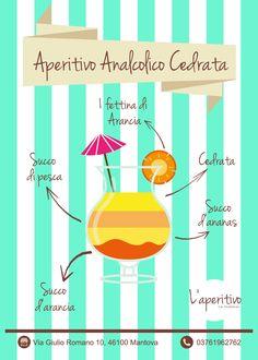 Aperitivo analcolico da La Dolcelia! #infographic #graphic