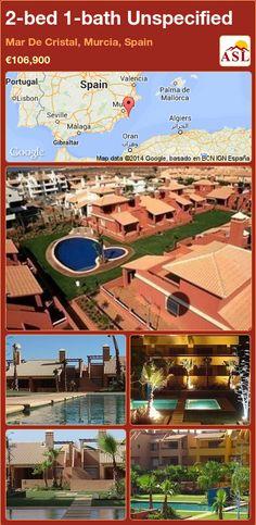 2-bed 1-bath Unspecified in Mar De Cristal, Murcia, Spain ►€106,900 #PropertyForSaleInSpain