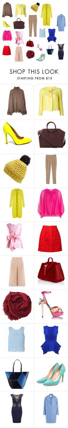 """vjt"" by anfisa-28 on Polyvore featuring мода, Ermanno Scervino, Givenchy, Nirvanna Designs, Monki, Yumi, Diane Von Furstenberg, Yanny London, Krizia и BCBGMAXAZRIA"
