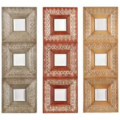 I pinned this 3 Piece Luanne Mirror Set from the Home for the Holidays event at Joss and Main!