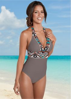 Shop Bohemian One Piece in online or call a swimwear expert: Discover comfortable figure flattering and sexy one-piece swimwear at affordable prices today. Best Swimsuits, Monokini Swimsuits, Women Swimsuits, Bikinis, Bathing Suits One Piece, One Piece Swimwear, One Piece Swimsuit, Sexy Outfits, Cool Outfits