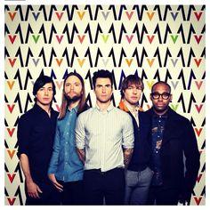 Maroon 5. i just really like them