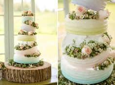 Amazing tiered cake!
