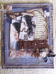 Another way Donna Salazar uses these new die sets in a mixed media piece! http://tiny.cc/SB-PreOrder ~~ See Designer Donna's ideas with 4 different die sets here: http://tiny.cc/SB6-Donna