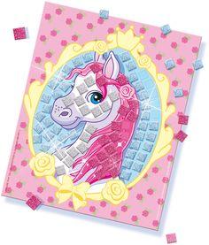 SES Glitter dreams - glitter mosaic #glitterdreams #glitter #mosaic #creative #mozaïek #horse