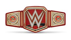 WWE MATTEL SUMMERSLAM ELITE RAW UNIVERSAL CHAMPIONSHIP BIGGER CLASPS RED